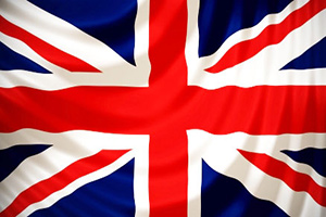 British (UK) Union Jack flag.